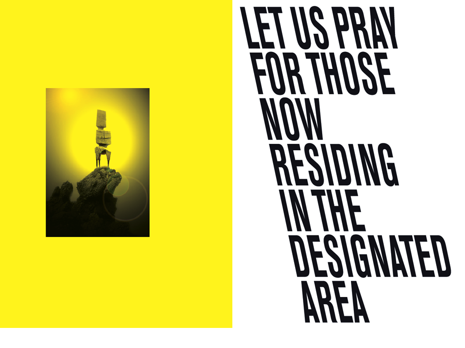 ROMAN VASSEUR, Let Us Pray for Those Now Residing in the Designated Area -  Publication
