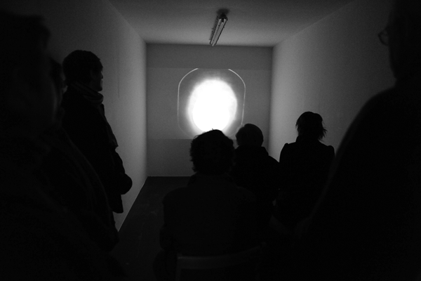 ROMAN VASSEUR, Let us Pray... ( Interior with video projection, Statecraft by Amanda Beech)