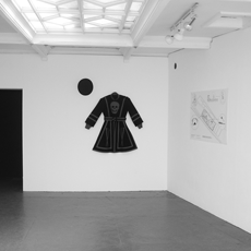 ROMAN VASSEUR, Murder Considered as a Fine Art...(Executioners Tunic installed at East International '06) Installation view