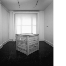 ROMAN VASSEUR, 500 Pounds of Common Earth (Installed at the Austrian Cultural Foundation, 2000)